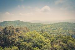 Piękny krajobrazu pasmo górskie Obrazy Royalty Free