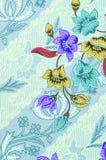 piękny kwiatu ilustraci wzoru wektor Obraz Royalty Free