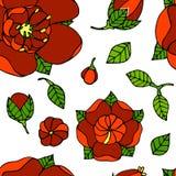 piękny kwiecisty wzór Obrazy Stock