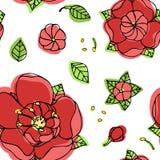 piękny kwiecisty wzór Obraz Royalty Free