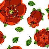 piękny kwiecisty wzór Fotografia Stock