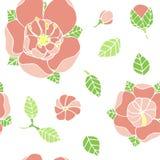piękny kwiecisty wzór Zdjęcie Royalty Free