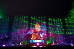 piękny laserowy przedstawienie Obraz Royalty Free