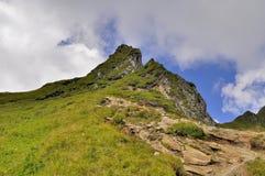 Piękny lato krajobraz w górach Fotografia Royalty Free