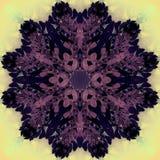 Piękny mandala kwiat Ornamentacyjny round kwiecisty przedmiot Zdjęcie Royalty Free