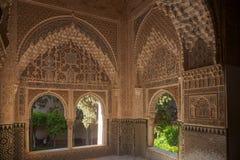 Pi?kny Maureta?ski forteca Alhambra w Granada, Andalusia zdjęcie royalty free