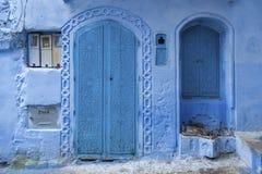 Piękny Medina Chefchaouen, Maroko Obraz Royalty Free