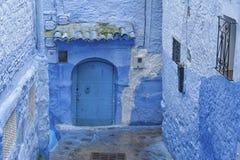 Piękny Medina Chefchaouen, Maroko Zdjęcia Royalty Free