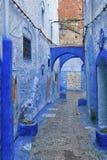 Piękny Medina Chefchaouen, Maroko Obrazy Stock