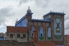 Piękny Medina Chefchaouen, Maroko Obrazy Royalty Free