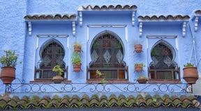Piękny Medina Chefchaouen, Maroko Zdjęcie Stock