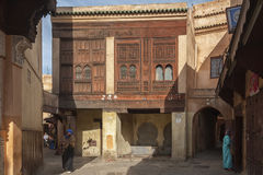 Piękny Medina Meknes Zdjęcia Royalty Free