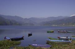 Piękny miasto Nepal, Pokhara Obraz Royalty Free