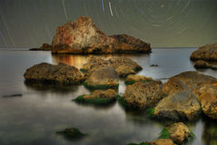 Piękny miejsce dla relaksuje i medytacja Obrazy Stock