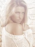 piękny model Zdjęcia Royalty Free