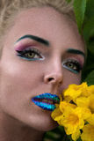 piękny model Fotografia Royalty Free