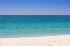 Piękny morze i niebieskie niebo przy Andaman morzem, Thailand Fotografia Stock