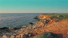 Piękny morze krajobraz zdjęcie wideo