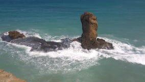 Piękny morze krajobraz w Maroko fotografia royalty free