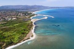 Piękny morze Sardinia Zdjęcie Royalty Free