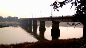 piękny most Obraz Royalty Free