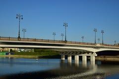 Piękny most w Astana/ Obraz Royalty Free