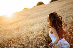 Piękny nastoletni uczucie uwalnia Zdjęcie Stock