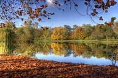 Piękny natura krajobraz Obrazy Royalty Free