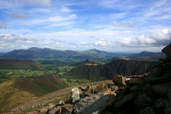 Piękny natura krajobraz Zdjęcia Royalty Free