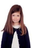 Piękny nieśmiały dziecko zdjęcia stock