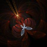 piękny niebieski kwiat Obrazy Stock