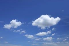 piękny niebieskie niebo Obraz Royalty Free