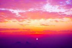 piękny niebo Obrazy Royalty Free