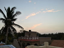 Piękny niebo Fotografia Royalty Free