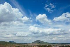Piękny niebo Zdjęcia Stock
