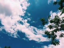 Piękny niebo zdjęcie stock