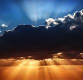 Piękny niebo krajobraz Fotografia Stock