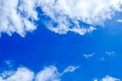 Piękny niebo, niebieskie niebo i lata niebo, Fotografia Stock