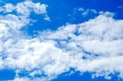 Piękny niebo, niebieskie niebo i lata niebo, Zdjęcia Stock
