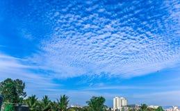 Piękny niebo portret zdjęcie royalty free