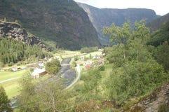Piękny Norway miasteczko Fotografia Royalty Free