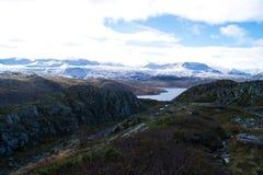 Piękny norwegu krajobraz Obraz Royalty Free