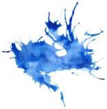 Piękny odszukany akwareli splatter Zdjęcie Royalty Free