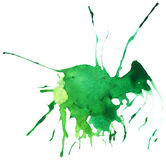 Piękny odszukany akwareli splatter Obraz Stock