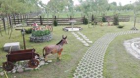 piękny ogród Obraz Royalty Free