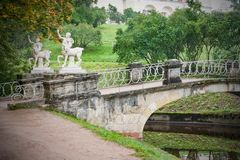 Piękny parka krajobraz Zdjęcia Royalty Free