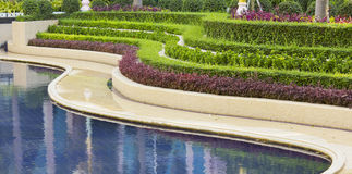 Piękny parkowy projekt Obrazy Royalty Free