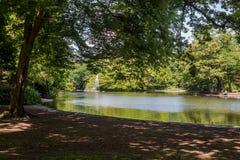 Piękny Parkowy scena park publicznie Obrazy Royalty Free
