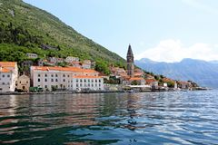 Piękny Perast, Montenegro fotografia royalty free