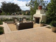 Piękny Plenerowy patio Obrazy Royalty Free